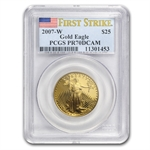 2007-W 1/2 oz Proof Gold American Eagle PR-70 PCGS (FS)