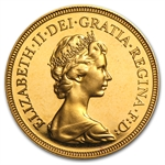 Great Britain Gold Proof Sovereign Queen Elizabeth II