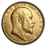 Great Britain Gold Sovereign Edward VII - Unc. (.2354 AGW)