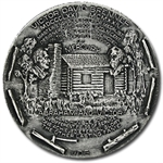 Mercury - Messenger God .999 Fine Silver (6.43 oz)