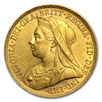 Australia Gold Sovereigns Victoria Extra Fine