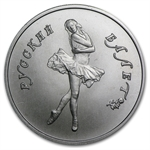 1991 1/4 oz Russian Palladium Ballerina