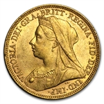 Great Britain Sovereign Gold Victoria - Extra Fine AGW .2354