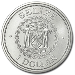 Belize 2002 1 Dollar 1 oz .999 Silver - Brilliant Uncirculated