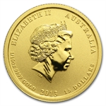1/10 oz Gold Round (Secondary Market) .999+ Fine