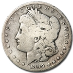 1899 Morgan Dollar - Good Details - Cleaned