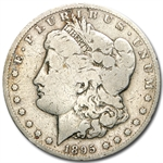 1895-S Morgan Dollar - Very Good Details - Cleaned