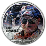 1 oz Dale Earnhardt Silver American Eagle (Colorized)