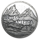 5 oz Swiss of America Silver Round .999 Fine