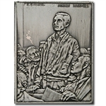 2.08 oz Norman Rockwell Freedom of Speech Silver Bar