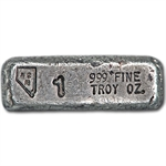 1 oz Nevada Coin Mart Ignot Silver Bar .999 Fine