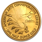 U.S. Mint 1/2 oz Gold Alexander Calder Commemorative Arts Medal