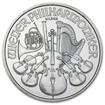 2008 1 oz Silver Austrian Philharmonic - Brilliant Uncirculated