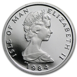 1/10 oz Isle of Man Platinum Noble