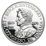 1976 1 oz Panama Platinum 150 Balboas (Proof) APW .2987