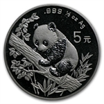 1995 - (1/2 oz) Silver Panda (Sealed)