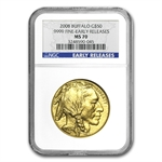 2008 1 oz Gold Buffalo MS-70 NGC (Early Releases)