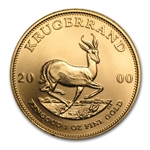 2000 1 oz Gold South African Krugerrand