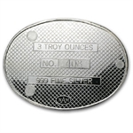 3 oz Silver Oval - The Coin Collector - .999 Fine