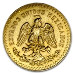 Mexico 1928 50 Pesos Gold Coin (AU/BU)