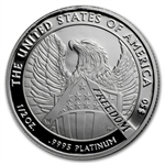 2007-W 1/2 oz Proof Platinum American Eagle (W/Box & CoA)