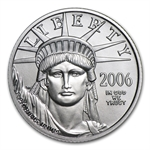 2006-W 1/4 oz Burnished Platinum American Eagle (w/Box & CoA)