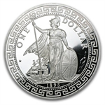 5 oz Silver Round - British Trade Dollar .999 Fine