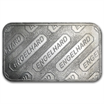 5 oz Engelhard Silver Bar (Struck, Logo Back) .999 Fine