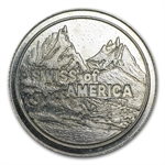 1 oz Swiss of America Silver Round (38 MM) .999 Fine