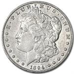 1894-S Morgan Dollar - Almost Uncirculated Details - Cleaned