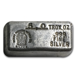 5 oz Phoenix Precious Metals Ltd. Silver Bar .999 Fine