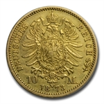 Germany (Prussia) 10 Mark Gold Dates of Our Choice AU or Better