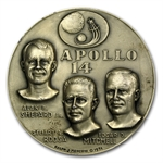 4.74 oz Silver Round APOLLO 14 .999 Fine