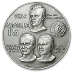 4.73 oz Silver Round APOLLO 15 .999 Fine