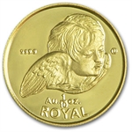 Gibraltar 1/10 Royal Gold Cherubs (Abrasions)