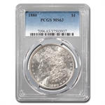 1880 Morgan Dollar - MS-63 PCGS