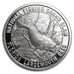 1 oz North American Hunting / Fishing Club Silver Round .999 Fine