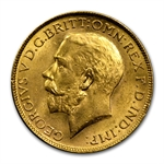 India 1918 Sovereign of George V Uncirculated