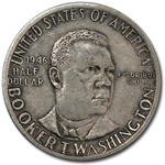 1946-51 Booker T. Washington Half-Dollar Extra Fine