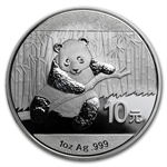 Random Year 1 oz Silver Chinese Panda - (Out of Plastic)