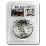 1923 Brilliant Uncirculated PCGS Stage Coach Silver Dollars
