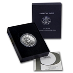 2007-W 1 oz Burnished Platinum American Eagle (w/Box & CoA)