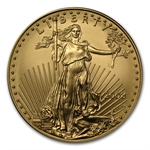 2008-W 1 oz Burnished Gold American Eagle (w/Box & CoA)