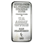 5 oz U.S. Assay Office Silver Bar .999 Fine