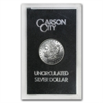 1891-CC Morgan Dollar Brilliant Uncirculated - GSA Holder