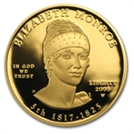 2008-W 1/2 oz Proof Gold Elizabeth Monroe (w/Box & CoA)