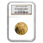 2007-W 1 oz Proof Gold American Eagle PF-70 NGC
