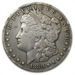 1880-CC Morgan Dollar - Very Fine - Rim Bump