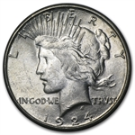 1924-S Peace Dollar - Brilliant Uncirculated