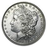 1882-O/S Morgan Dollar - Brilliant Uncirculated